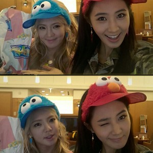 Hyoyeon and Yuri