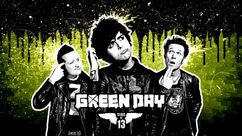 My Friends On Fanpop wallpaper probably with anime entitled I Love Green Day