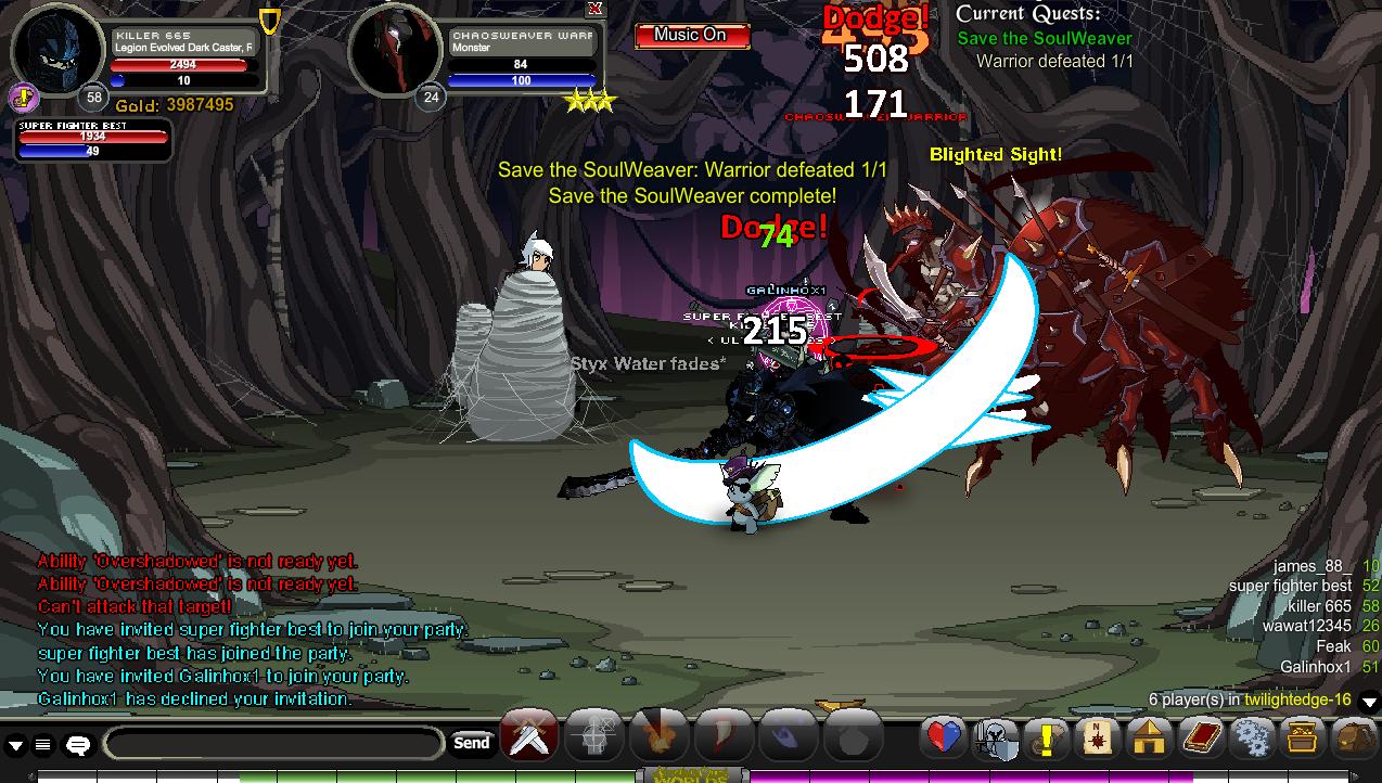 aqw monster id