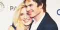 Ian Somerhalder gives his former cast mate Maggie Grace a huge hug at Lost 10th Anniversary Reunion  - ian-somerhalder photo