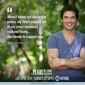 Ian @ Years Of Living Dangerously - ian-somerhalder photo