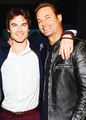 Ian and Josh   - ian-somerhalder photo