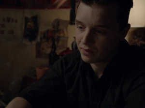 Mickey Watches Over Ian