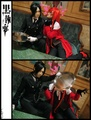In Yo Face Grell - black-butler photo