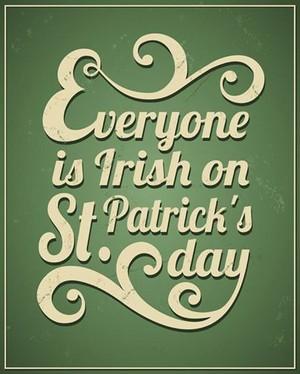 Happy St.Ppatrick's 日 !