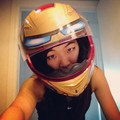 Ironman Motorcycle Helmet by Masei