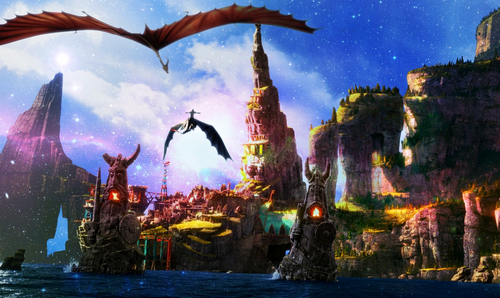 How To Train Your Dragon Wallpaper Called Isle Of Berk