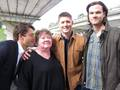 J2,S. E. Hinton and Misha - jared-padalecki photo