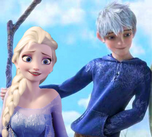 Jack Frost and Elsa of Arendelle