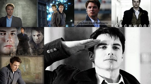 doctor who wallpaper containing a business suit titled Jack Harkness