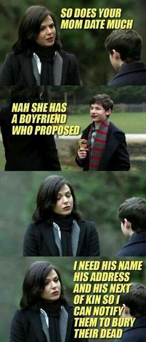 Jealous Regina