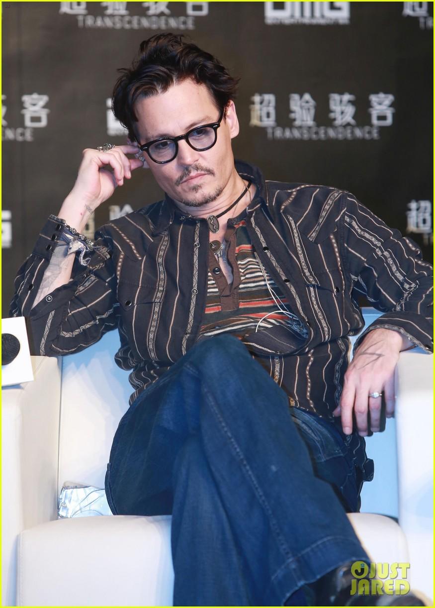 "Johnny - ""Transcendence"" Beijing Premiere (30 Mar 2014 ..."