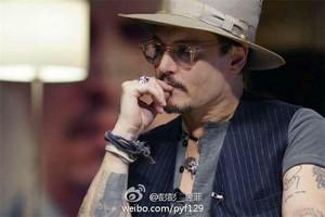 Johnny at Beijing Film Academy - China (01/04/2014)