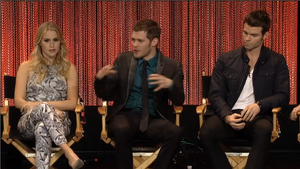 Joseph, Daniel and Claire at PaleyFest 2014