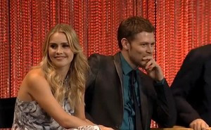 Joseph and Claire at PaleyFest 2014