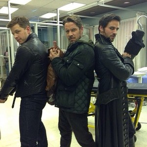 Josh Dallas, Sean Maguire and Colin: Emma's angeli ✨