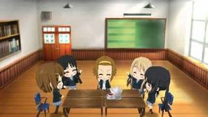 K-ON! Houkago Live!! Video game chibi gameplay