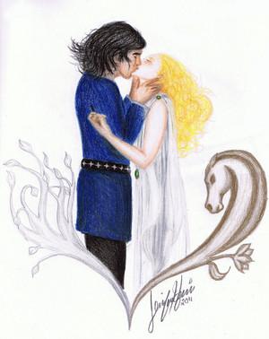 Faramir and Eowyn 由 Silamir
