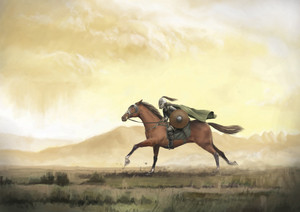 On the horseback bởi Skworus