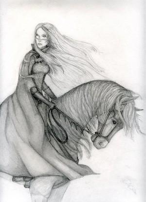 Eowyn and Windfola 由 Mistresselysia