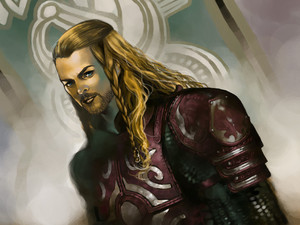 Eomer of Rohan 由 Mael Nohara