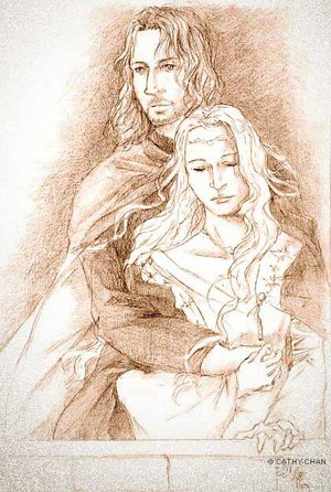 Faramir and Eowyn da lotr-ships