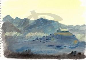 Edoras - Meduseld 由 Maellowyn