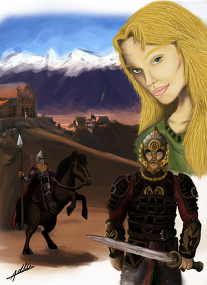 Rohan - Edoras' Pride by Adler Dare