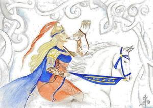Rider of Rohan da Isabelle Scharin
