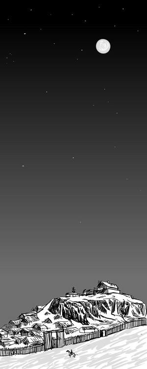Night of Edoras by yollo8