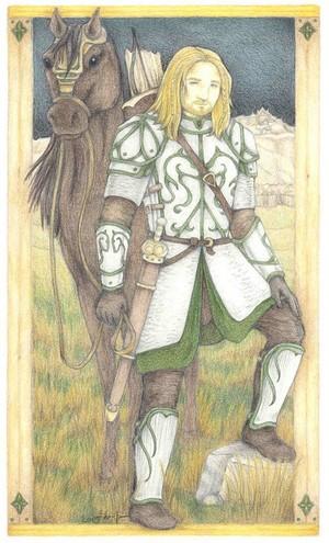 Bryttar, Rohirrim warrior kwa Sara M. Tan