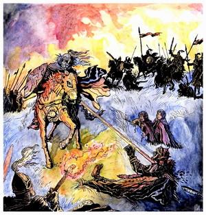 Rohirrim attack 由 Jan Pospisil