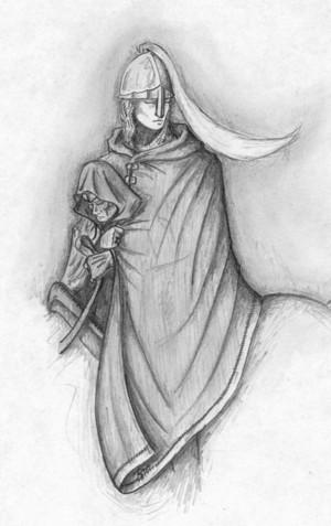 Eowyn and Merry 由 Derek Hand