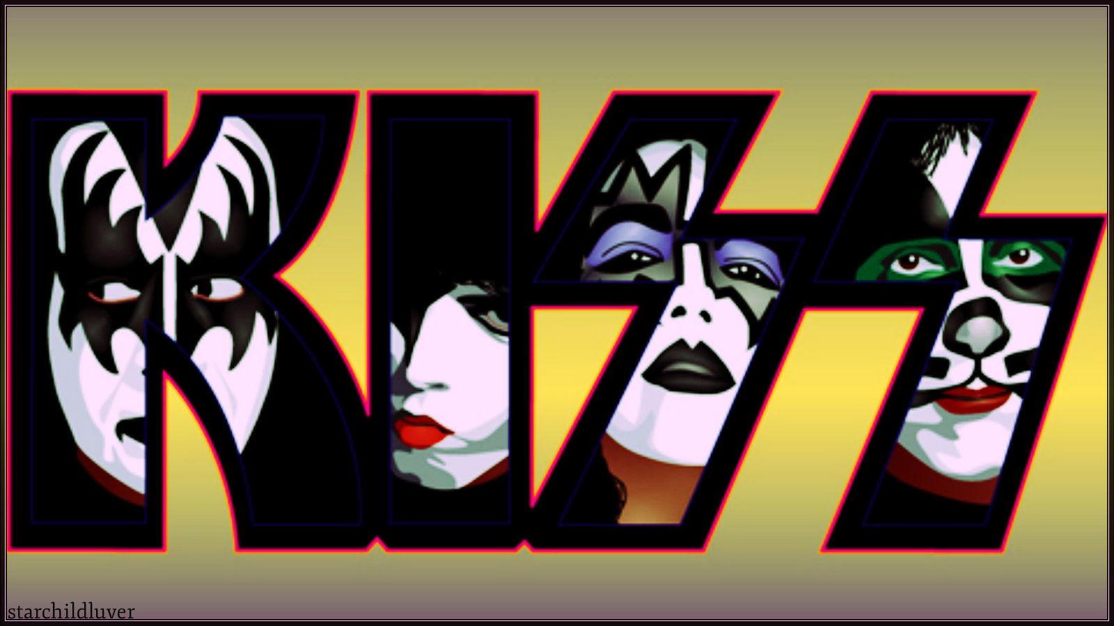 KISS ~Paul, Ace, Gene and Peter