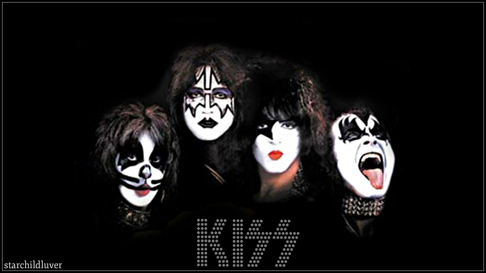 Kiss Paul Ace Gene And Peter Kiss Wallpaper 36881374