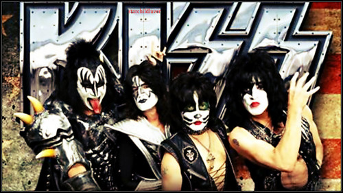 KISS wallpaper called 40 years of KISS