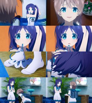 Kaname x Chisaki