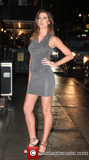 Katherine Webb out on the town