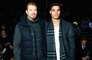 Kellan Lutz and Siva Kaneswaran