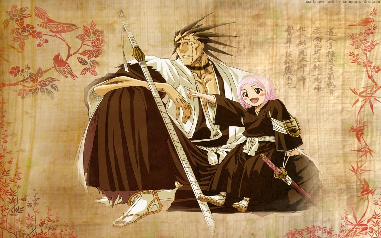 Kenpachi Zaraki And Yachiru - Kenpachi Zaraki Wallpaper (36820428 ...