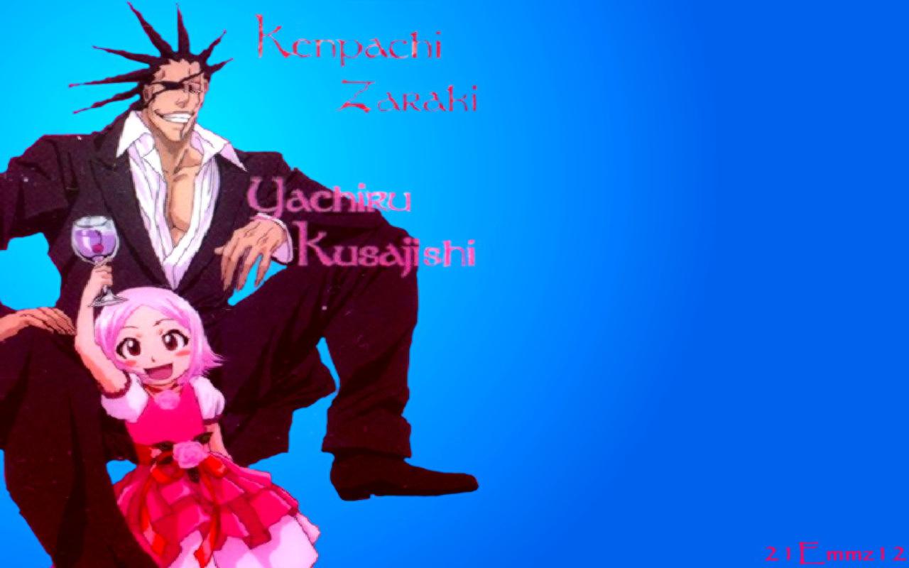 Kenpachi Zaraki and Yachiru - Kenpachi Zaraki Wallpaper (36820457 ...
