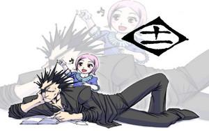 Kenpachi Zaraki and Yachiru