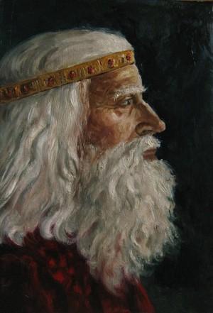 King Theoden por AlasseaEarello