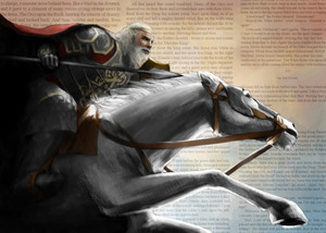 King Theoden par Rita Fei