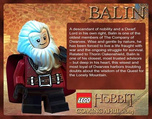 द हॉबिट वॉलपेपर titled LEGO The Hobbit - Balin