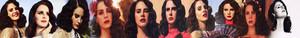 Lana Del Rey Banner made sa pamamagitan ng me:)
