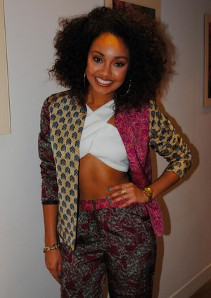 Leigh - Anne yesterday at the IVT Studios