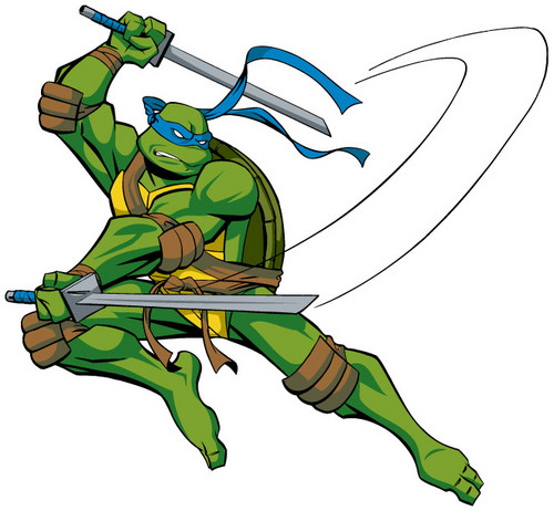 TMNT Leonardo achtergrond with anime called Leonardo
