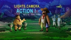 Lights,camera,action!