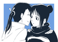 Ling Yao and LanFan - full-metal-alchemist-couples wallpaper